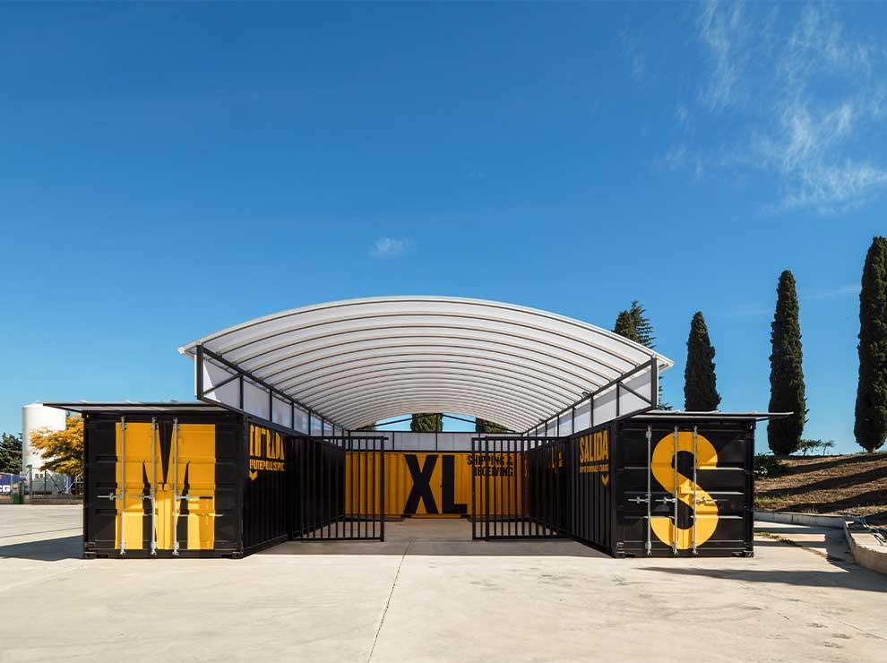 Arquitectura efímera con containers