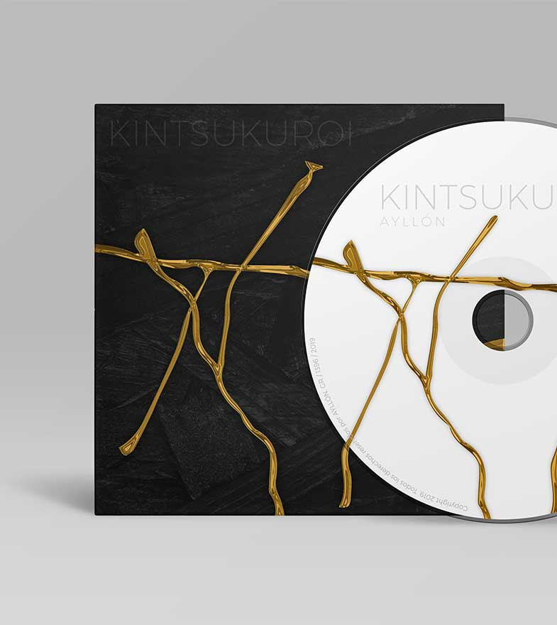 Packaging de CD elegante.