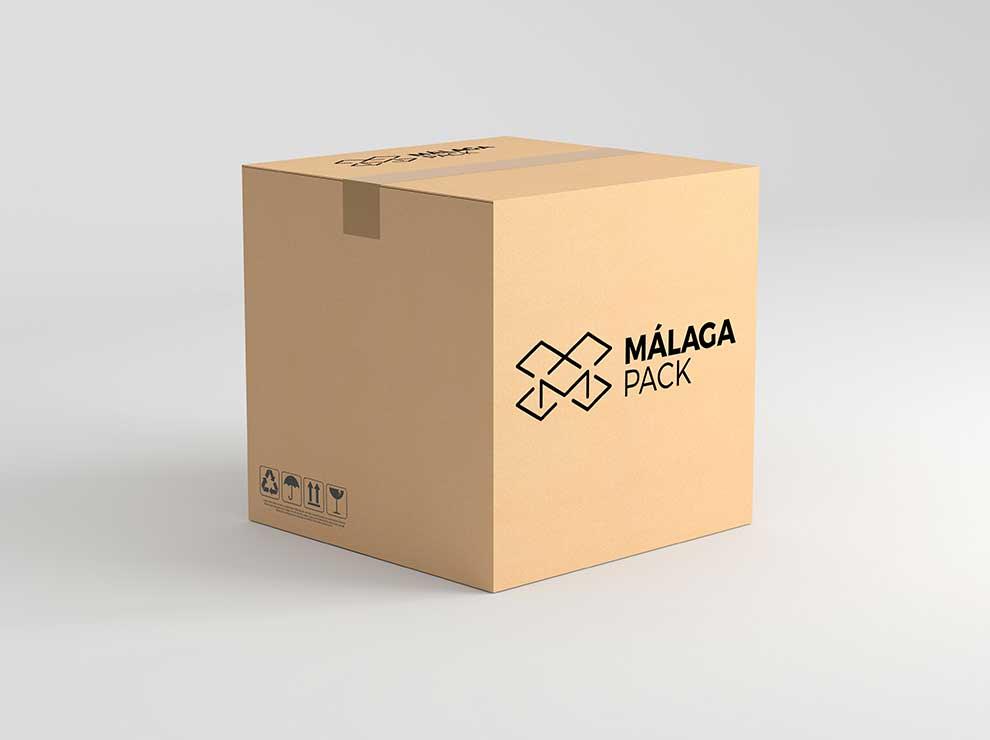 Packaging de Málaga Pack.