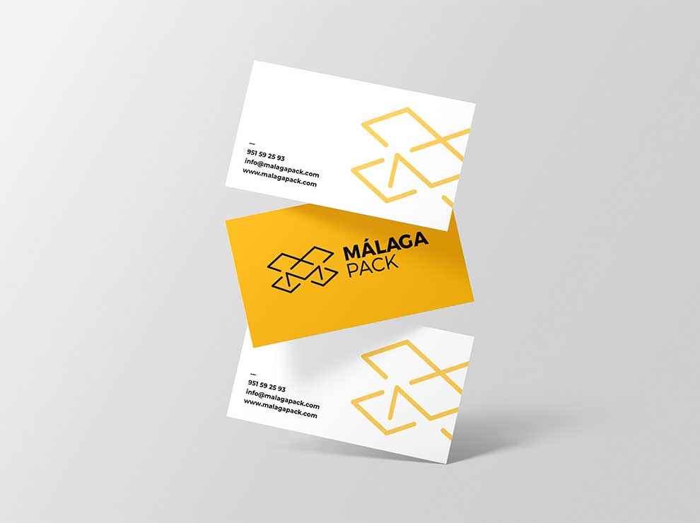 Diseño de tarjeta de visita moderna