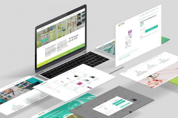 Página web de farmacia Pinosol