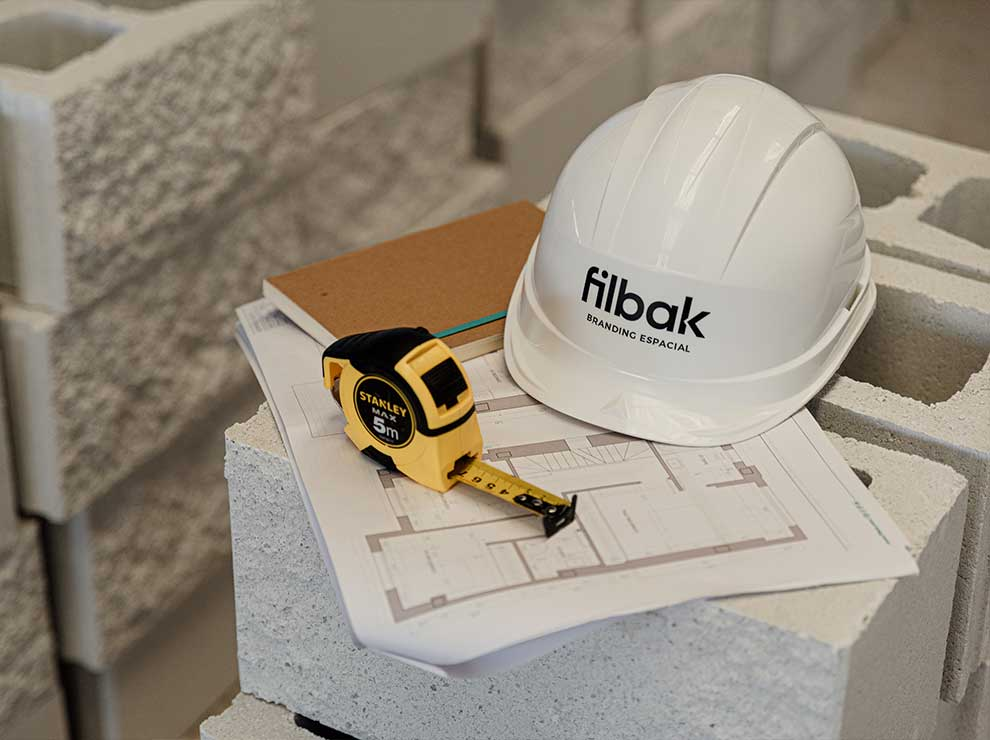 Construction management phase of a project in Filbak