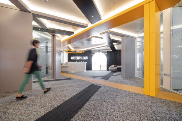 Branding espacial de oficinas.