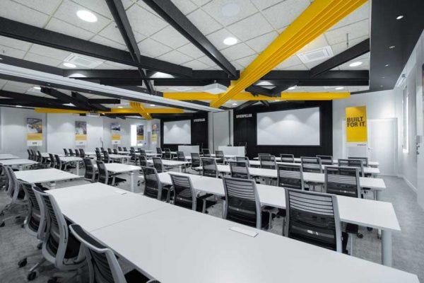 Interiorismo en aulas de formación