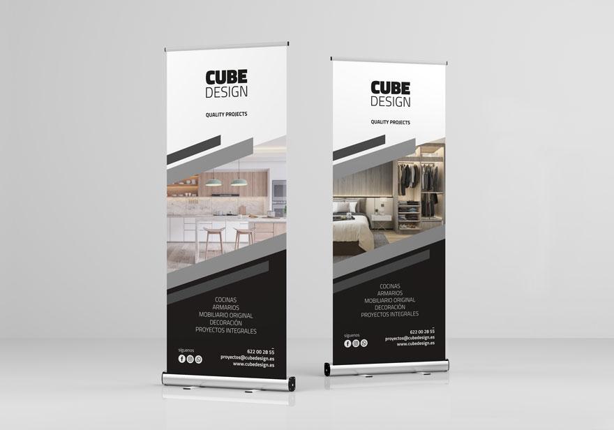 Rollup design for Cube Design