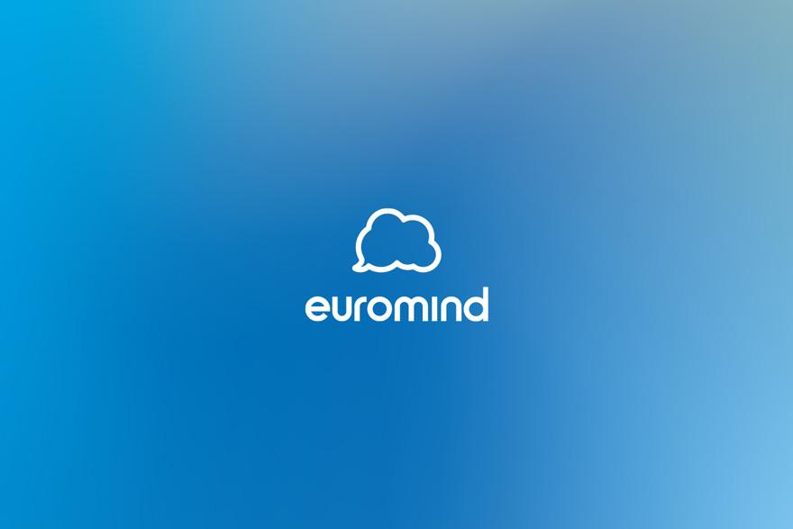 Diseño de logotipo de la marca Euromind