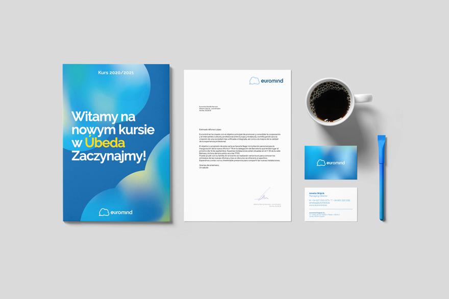 Manual de identidad corporativo para Euromind