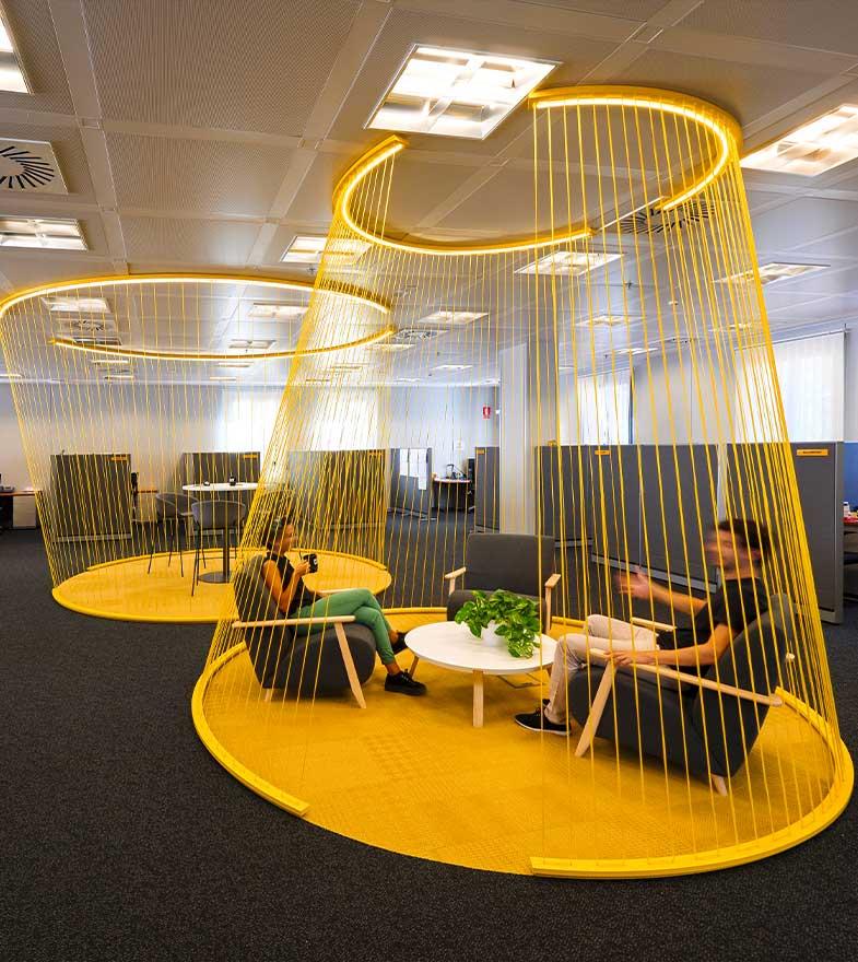 Interiorismo en oficinas.