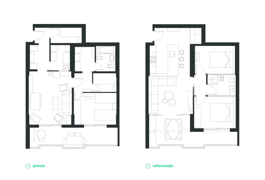 Home layout and interior design in Almería
