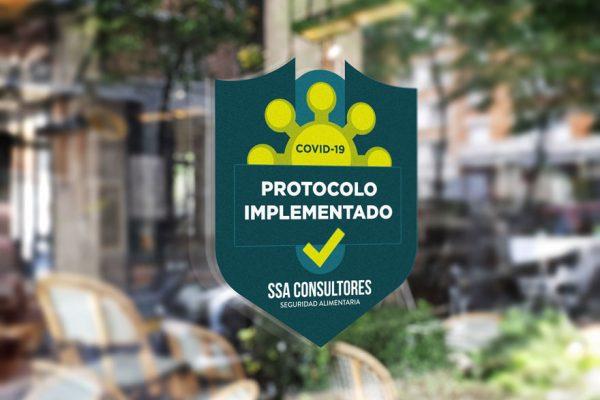 Sello de seguridad alimentaria contra el COVID-19