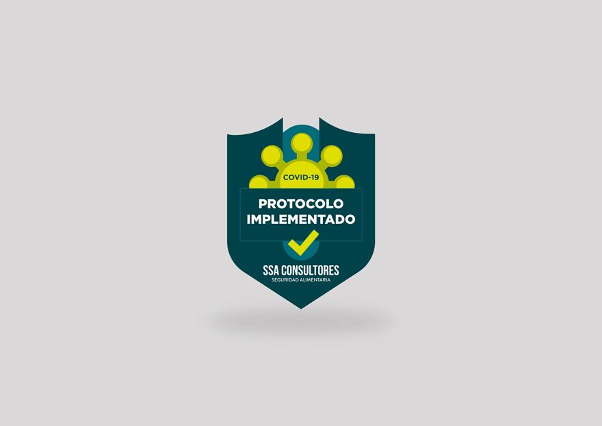 Logo para protocolo covid de SSA Consultores