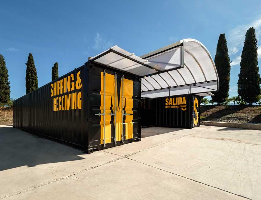 Diseño de arquitectura efímera con contenedores