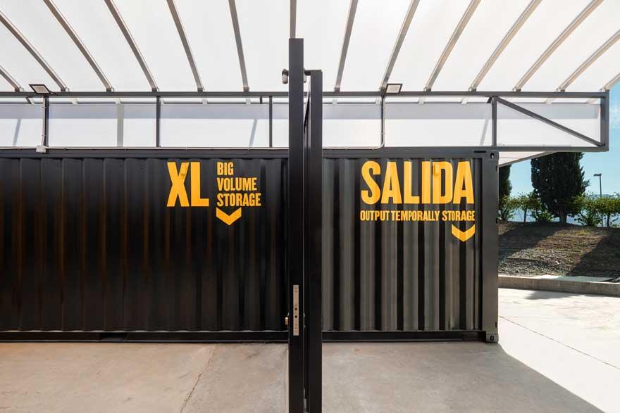 Diseño de acceso a arquitectura con containers en Caterpillar