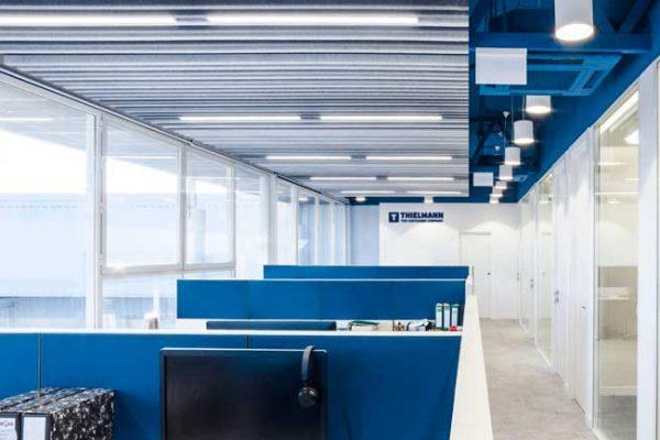 Diseño interior de espacios de trabajo en Thielmann