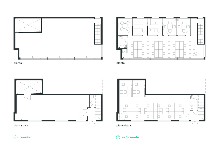Office layout in Granada for Thielmann