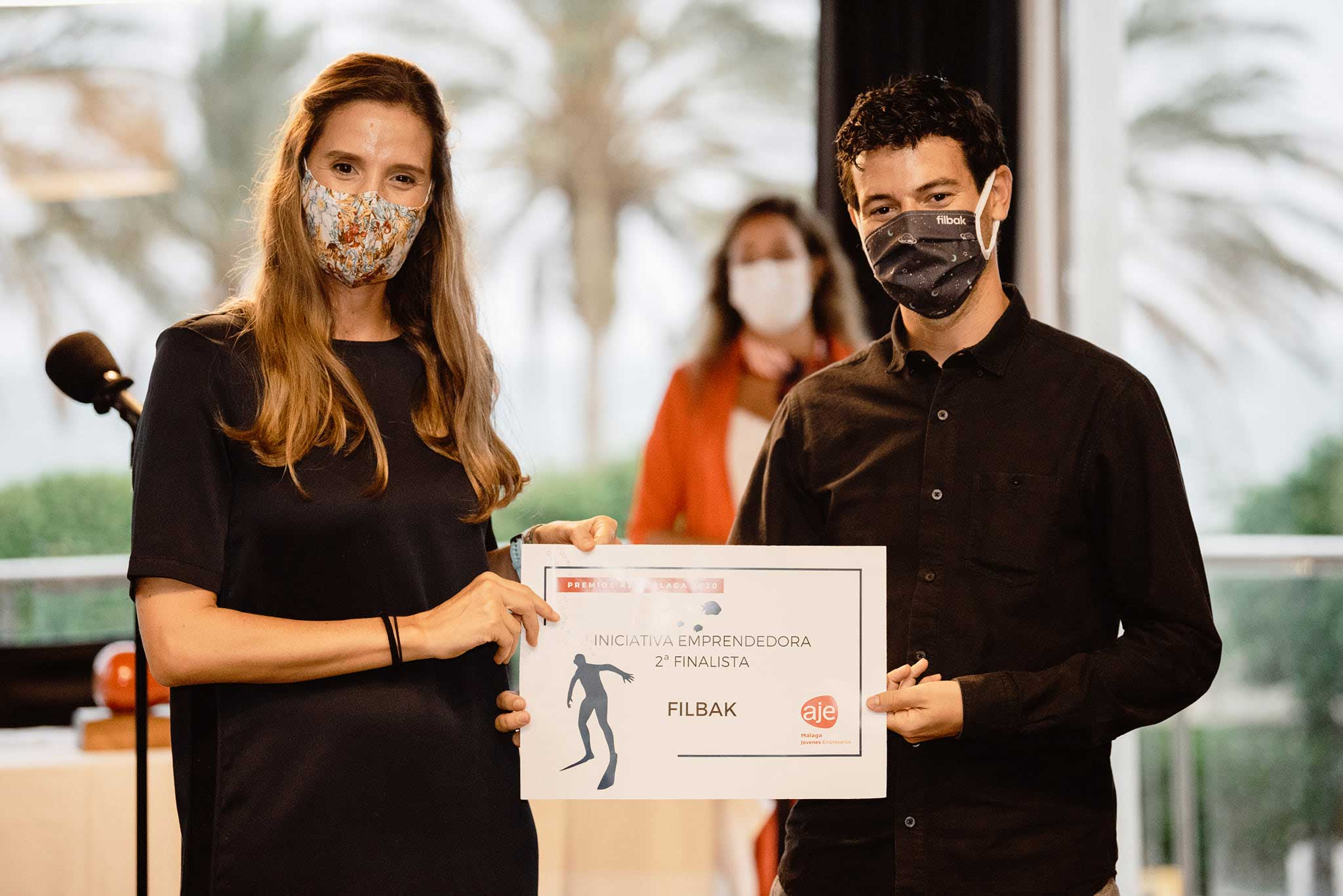 Filbak galardonada en los premios aje 2020