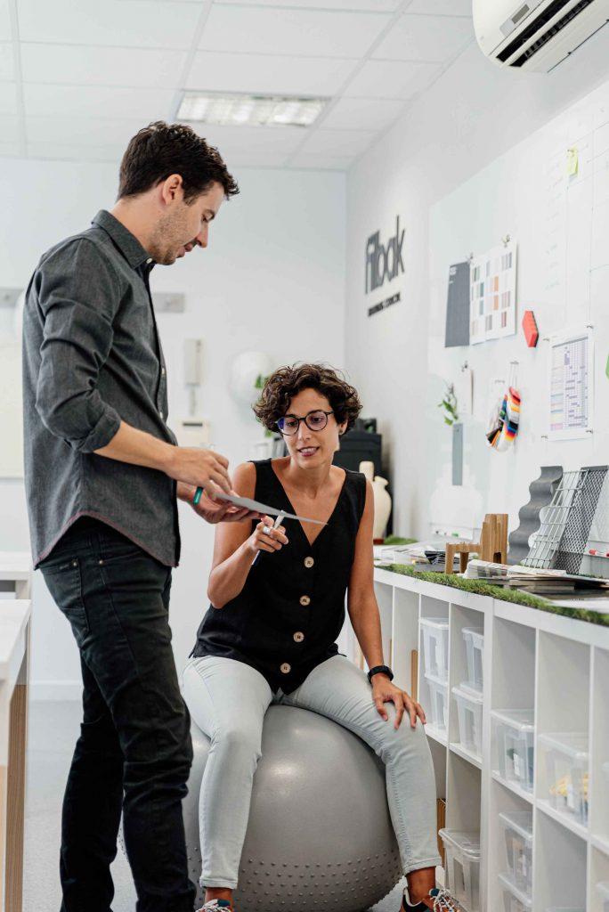 Filbak - Fitball y la metodología agile en el diseño de oficinas