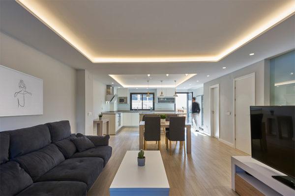 Diseño interior de vivienda en Málaga