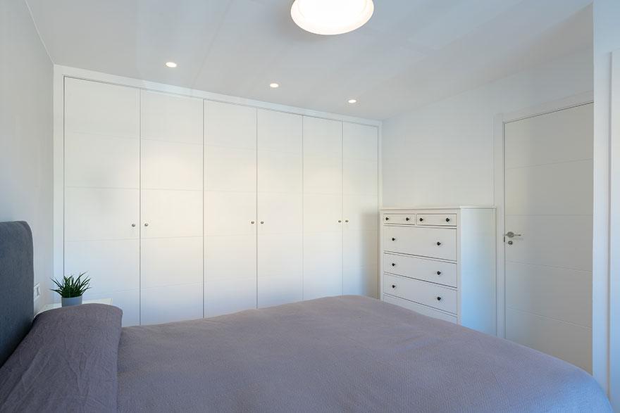 Diseño de interiores de dormitorio principal