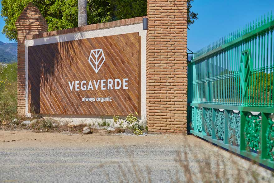Access space branding for the company Vegaverde