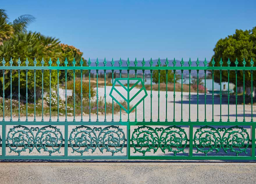 design of access fence to the Vegaverde company