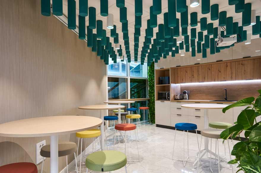 diseño de office para oficina en Málaga
