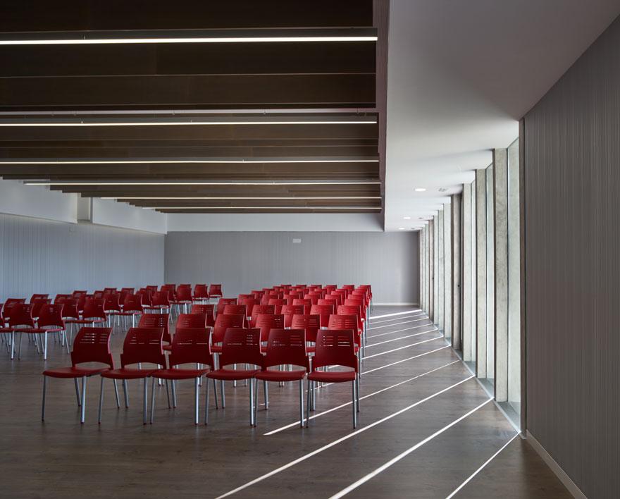 reform of the Sagrado Corazón school Malaga