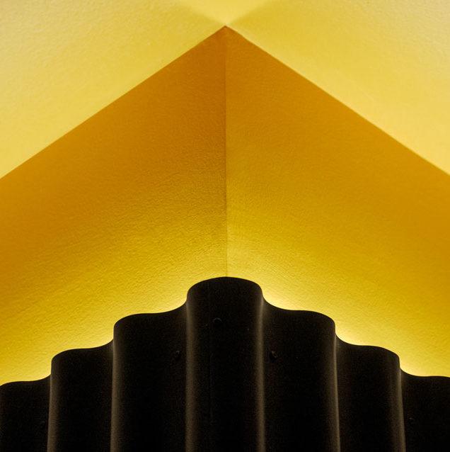luz indirecta de bañado de techo