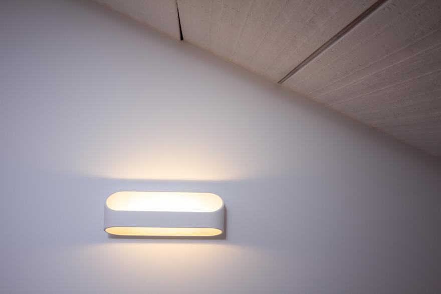 iluminación del ático reformado